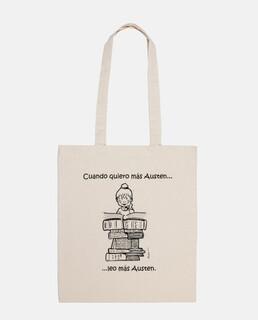 Austenite bag shoulder or arm - hand or arm bag janeite