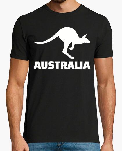 Tee-shirt australie kangourou
