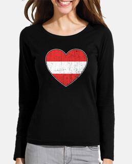 austria bandera amor corazón