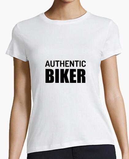 Camiseta auténtica motorista / de la motocicleta