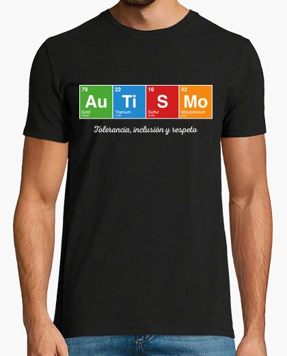 Tee-shirt Autisme: la tolérance, l'inclusion et le respect
