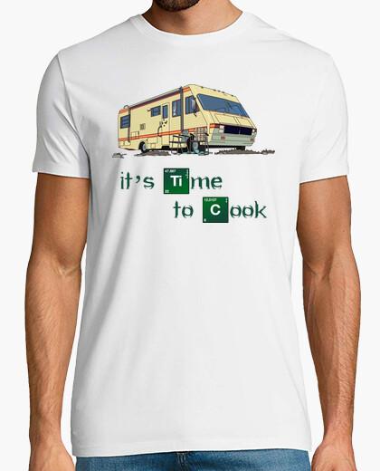 Camiseta Autocaravana - It's Time to Cook (Breaking Bad)