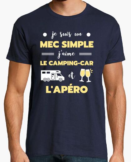 Camiseta autocaravana apero humor jubilado...