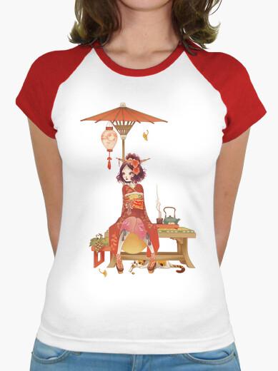 Tee-shirt automne kokeshi aucune frame