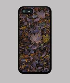 Autumn leaves Funda iPhone 5 / 5s, negra