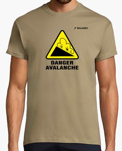 Camiseta AVALANCHA NEGRO