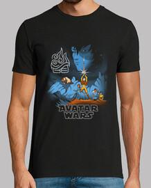 avatar guerras camisa mens