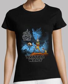 avatar wars shirt womens