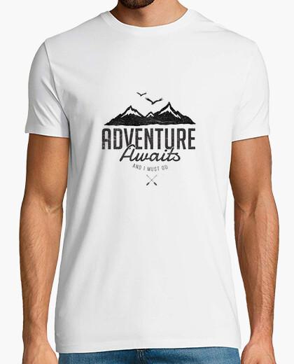 Camiseta aventura le espera