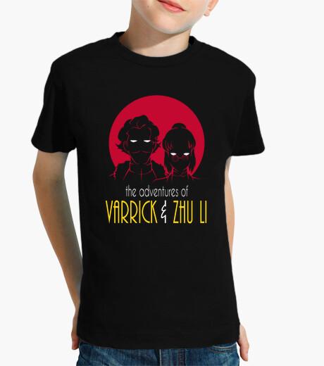 Ropa infantil aventuras de tamaño varrick y zhu niño li