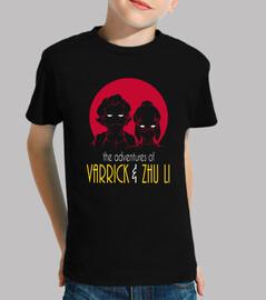 aventuras de tamaño varrick y zhu niño li