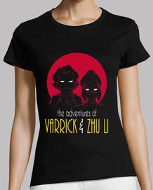 aventuras de varrick y zhu camisa chica li