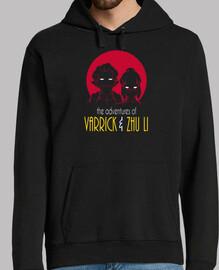 aventuras de varrick y zhu hombres li hoodie