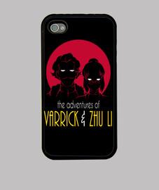 aventuras de varrick y zhu li phonecase