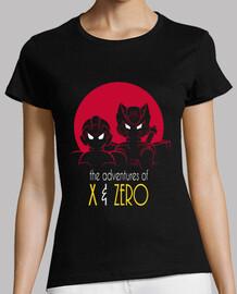 aventuras de x y camisa cero chica