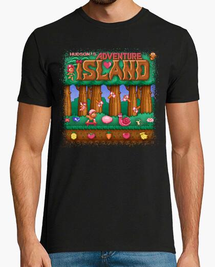 Tee-shirt aventure île