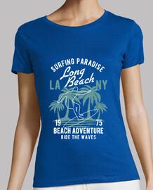 aventures sur la plage de surf