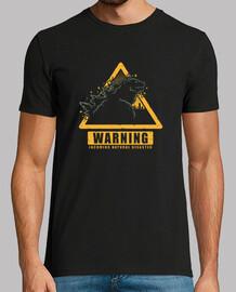 avertissement de kaiju