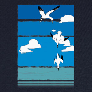 Camisetas Aves (color)