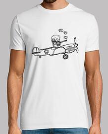 Aviador Fumando