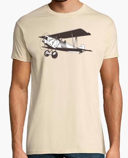 Camiseta Avión Biplano Vintage