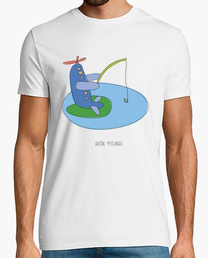 Camiseta AVIÓN PESCANDO