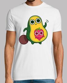 avocado and strawberry
