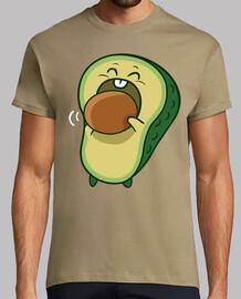avocado eating bone