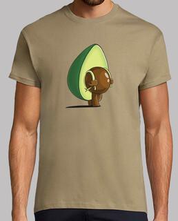 avocado mit rucksack