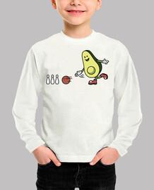 Avocado Playing Bowling