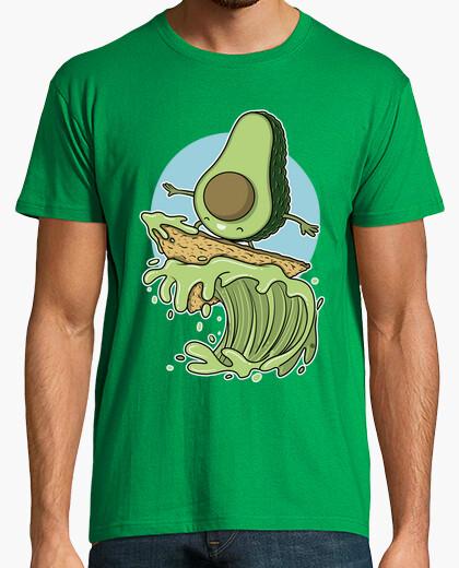 T-shirt avocado surf er