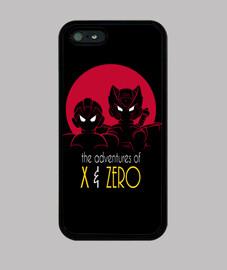 avventure di x & a zero phonecase