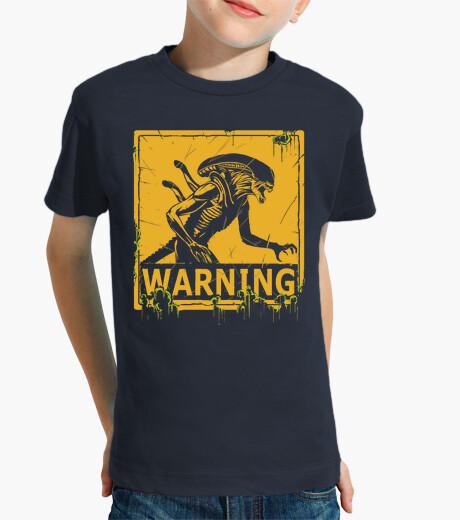 Abbigliamento bambino avvertimento