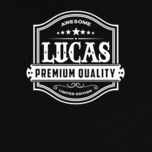 Awesome Lucas - Whisky Label Style T-shirts
