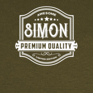 Awesome Simon -  Whisky Style Label T-shirts