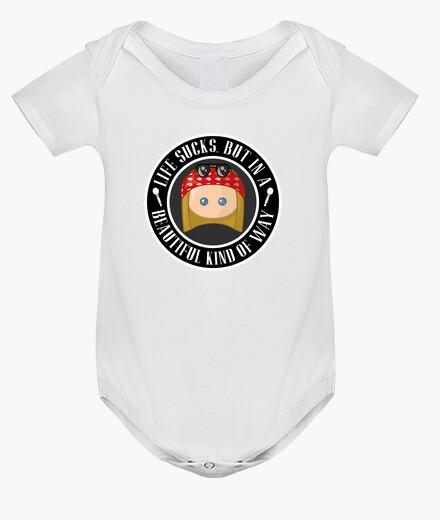 Ropa infantil Axl Life Sucks Bodie