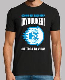 ayuuuken! t-shirt da uomo