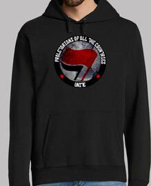 azione antifascista 3 felpa