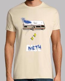 azul camisa de hombre de metanfetamina