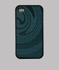 azul iphone 4 espiral