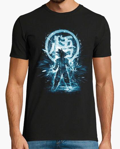 Camiseta azul tormenta dragón