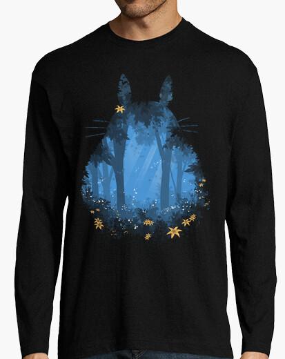 Camiseta azul totoro