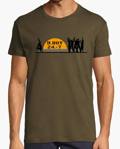 Camiseta B boy 24/7