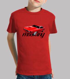 babay shirt mustang