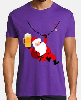 Babbo Natale con la birra
