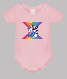 baby animals s with rainbow