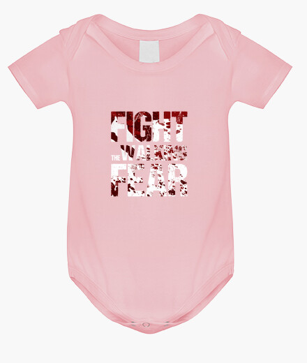 Baby body fight the walking fear children's clothes