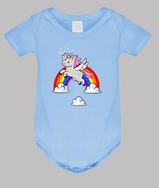 Baby Body, himmelblau