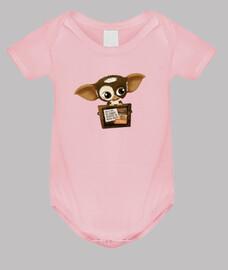 Baby bodysuit, pink