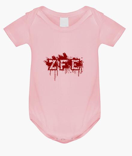 Baby bodysuit, pink children's clothes